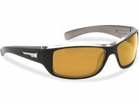 Ochelari Flying Fisherman Helm Black Crystal Gunmetal Yellow Amber