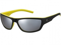 Ochelari Polaroid PLD 7007/S Black Yellow Sunglasses