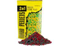 Carp Zoom 2in1 Turbo Pellets Strawberry Fish