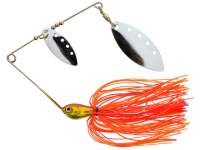 RTB Dual Blade Spinnerbait 16g Orange Glitter