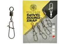 RTB Swivel Round Snap