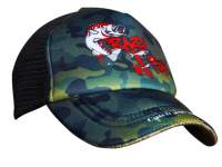 Sapca Crazy Fish Trucker Cap Camo Original Kid Size