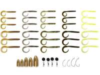 Savage Gear Rib Worm Kit 30+17