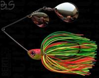 Spinnerbait Berti Gigant B&S Colorado 17g Firetiger