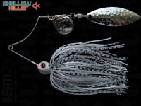 Spinnerbait Berti Shallow Killer 11g Colorado-Salcie / White-Black Pearl