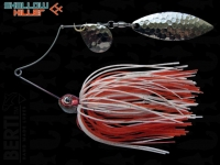 Spinnerbait Berti Shallow Killer 11g Colorado-Salcie / White-Red