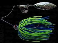 Spinnerbait Berti Shallow Killer Colorado Salcie 7g Blue Chartreuse