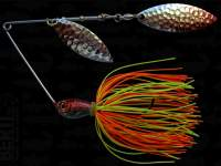 Spinnerbait Berti Skirt 14g Salcie Orange-Chartreuse