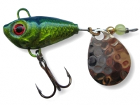 Spinnertail Berti Fishelic nr.2 Nickel / Blue Chartreuse
