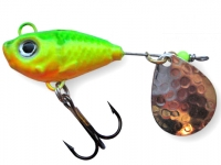 Spinnertail Berti Fishelic nr.6 Nickel / Fire Tiger