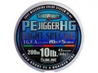 Sunline PE JIGGER HG Light Special 200m