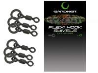 Vartejuri Gardner Covert Flexi Hook Swivels