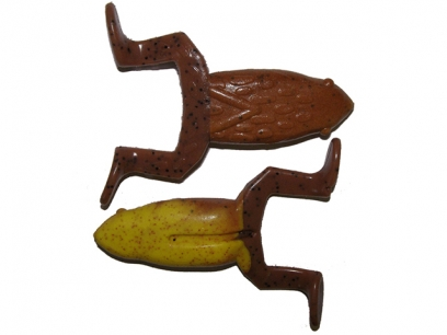 Big Bite Baits Floating Toad 9cm Carolina Pumpkin Yellow 06