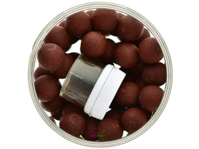 Boilies de carlig Solar Red Herring Hardened Hookbaits