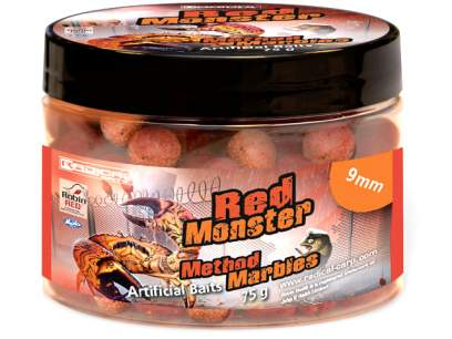 Boilies Radical Method Marbles Red Monster