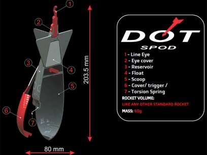 Racheta nadire Carp System DOT Spod Rocket