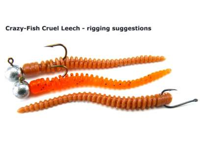 Crazy Fish Cruel Leech 5.5cm 51 Squid