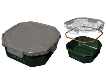 Cutie Greys Klip-Lok Perforated Bait Box 1.6L