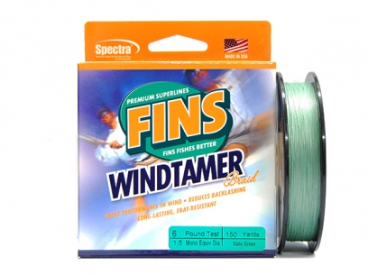 Fins Windtamer Spectra Green 137m