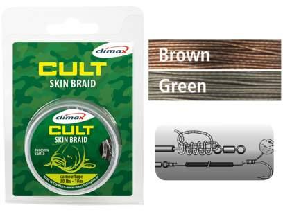 Fir Climax Cult Carp Skin Braid 15m Camou Brown