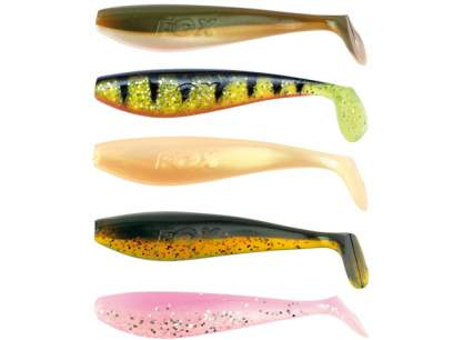 Fox Rage Zander Pro Shad UV 12cm Mixed Colour