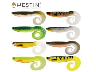 Grub Westin CurlTeez Curltail 8.5cm Bass Orange