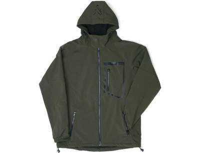 Jacheta Fox Green Black Softshell Jacket