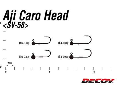 Jig Decoy SV-58 Aji-Caro Head 0.3g