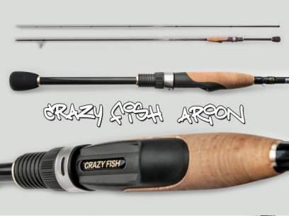 Lanseta Crazy Fish Arion 762LS 2.29m 3-12g Extra Fast