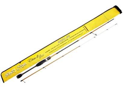 Lanseta Crazy Fish Ebisu Gold II 602SUL Nano Jig 1.83m 0.3-5g Fast