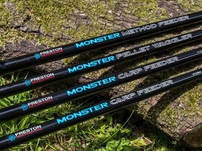 Lanseta Preston Monster Carp Feeder 3m 45g