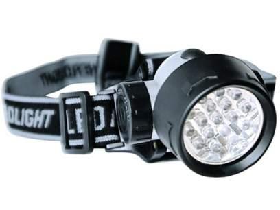 Lanterna Zebco Power LED Head Lamp