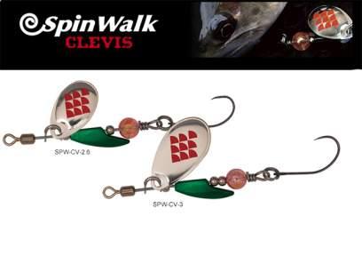 Lingurita rotativa Palms Spin Walk Clevis 3g GMG