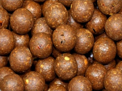 Select Baits boilies Liver Spice + Frankfurter