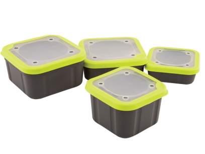 Matrix Bait Boxes Solid Top Grey Lime