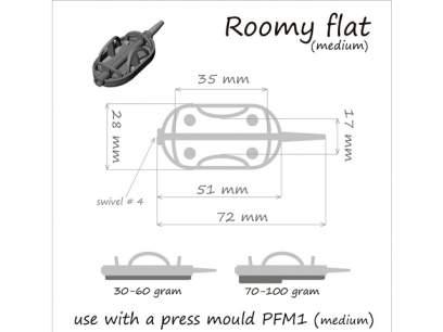 Momitor Orange Method Roomy Flat