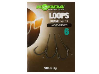 Montura Korda Loops Krank Rig Micro-Barbed
