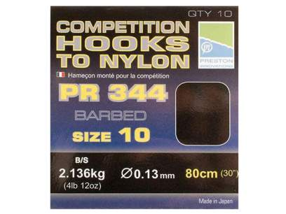 Montura Preston Competition 344 Hooks to Nylon