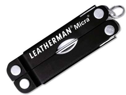 Multifunctional Leatherman Micra Multi-Tool Black