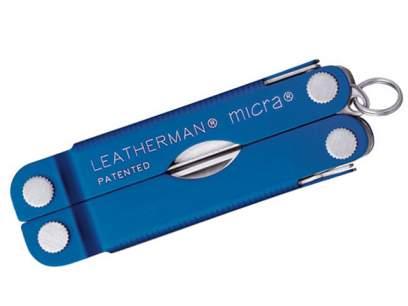 Multifunctional Leatherman Micra Multi-Tool Blue