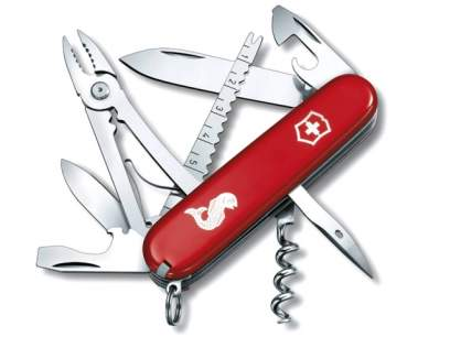 Multifunctional Victorinox Angler Red