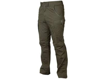 Pantaloni Fox Collection Green & Silver Combat Trousers