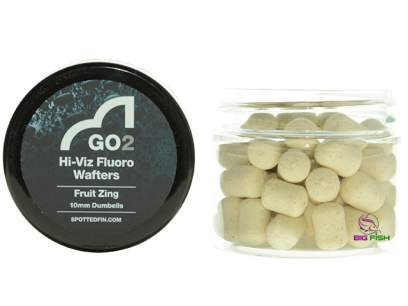 Pelete Spotted Fin GO2 Hi-Viz Fluoro Wafter Fruit Zing Pellet 10mm