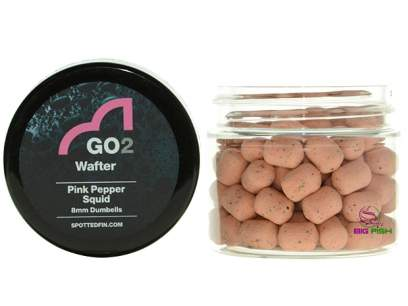 Pelete Spotted Fin GO2 Natural Wafter Pink Pepper Squid Pellet 8mm