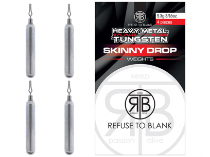 RTB Tungsten Skinny Drop Weights