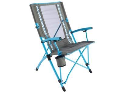 Scaun pliabil Coleman Bungee Chair Blue