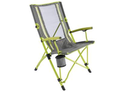 Scaun pliabil Coleman Bungee Chair Lime