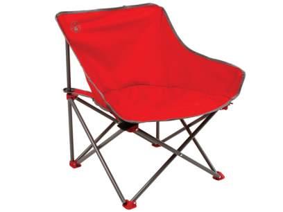 Scaun pliabil Coleman Kick-Back Chair Red