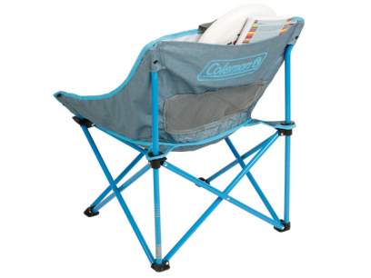 Scaun pliabil Coleman Kickback Breeze Chair Blue