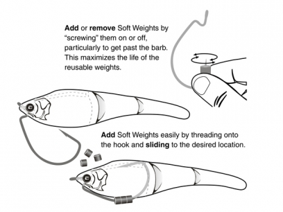 Sebile Soft Weight System